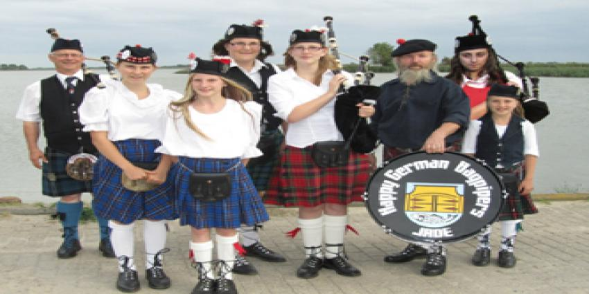 Interview mit der Dudelsackband Happy German Bagpipers
