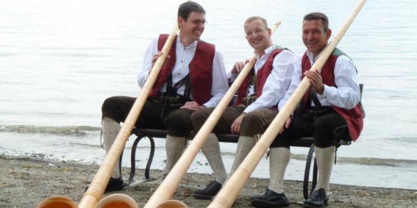 Interview mit den Alphornbläsern vom Bodensee