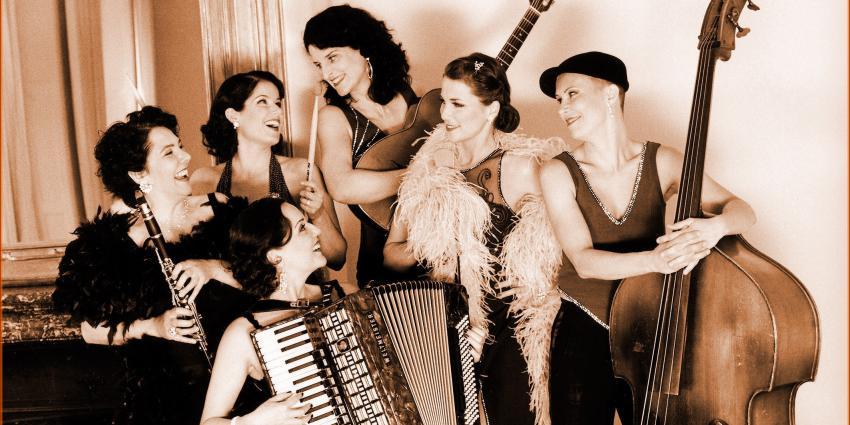 Interview mit Les Belles du Swing