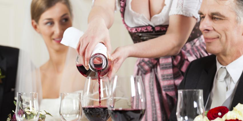 Bayerische Hochzeit feiern.