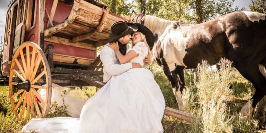 Western Hochzeit: Amerikanische Hochzeit in Deutschland