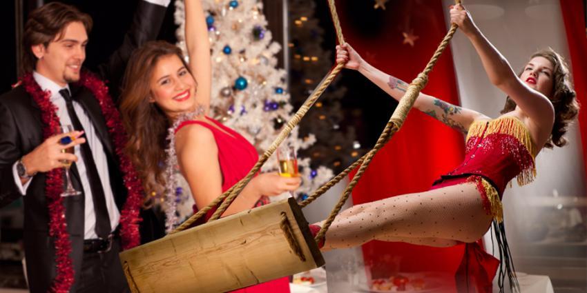 Showeinlage Weihnachtsfeier
