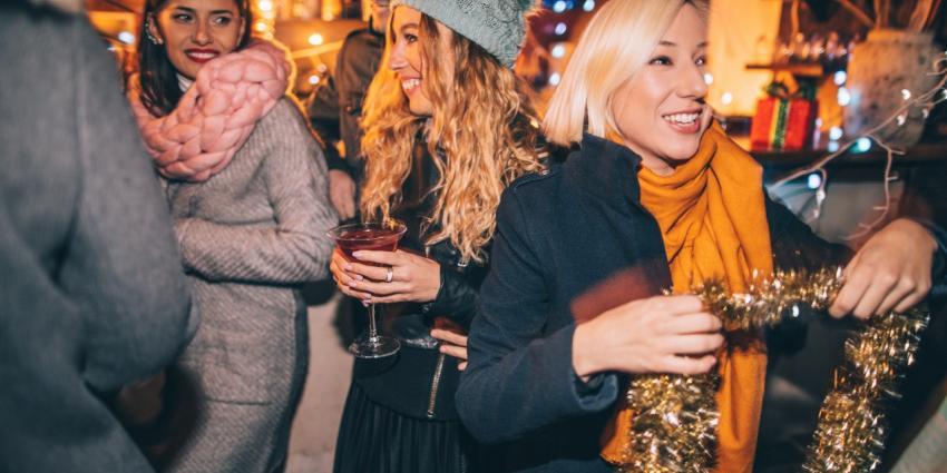 Wintergrillen: Weihnachtsfeier unter freiem Himmel