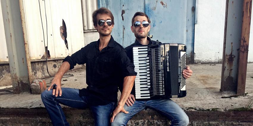 Künstler der Woche: Duo Druckluft