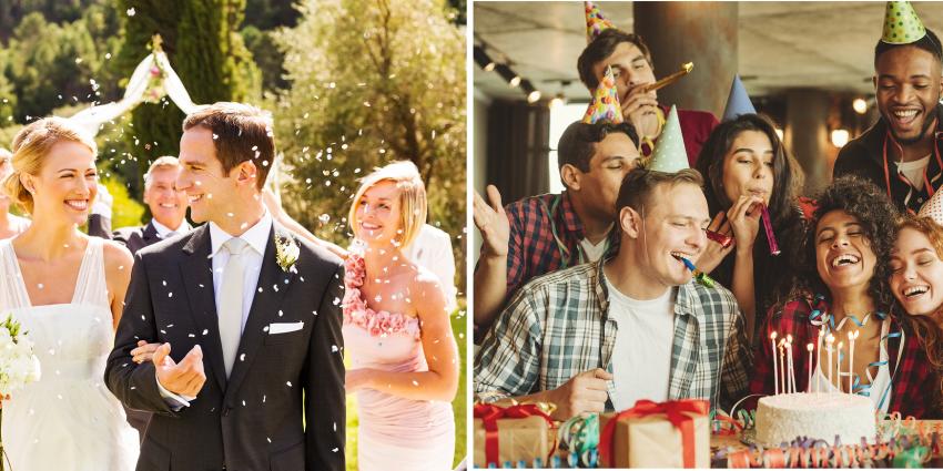 Hochzeit oder Geburtstag trotz Corona feiern