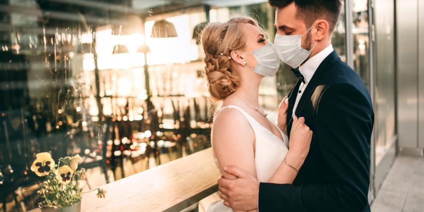 Hochzeit trotz Corona und Maskenpflicht