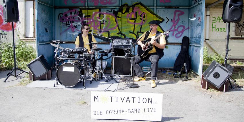 """Künstler der Woche: Motivation-heute """"Die Corona Band"""""""