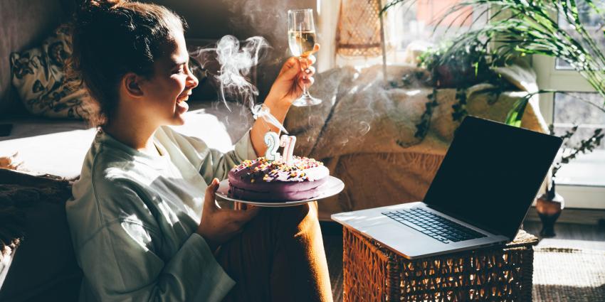 Geburtstag virtuell