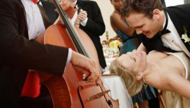 Der Klassiker: Streicher zur Trauung, Orchester zum Tanz