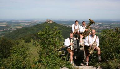 Interview mit den Original Doppelradler Musikanten