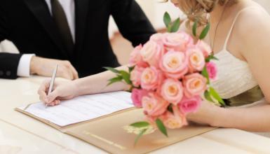 Heiraten auf dem Standesamt: So gelingt die standesamtliche Trauung