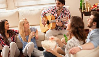 Das Wohnzimmerkonzert: Musik hautnah