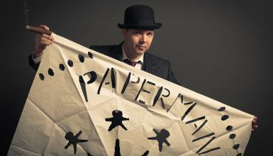 Interview mit The Paperman Show