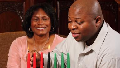 Kwanzaa - noch sieben Kerzen bis zum großen Fest