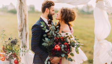 Heiraten im Herbst: Bunte Tipps für die goldene Herbsthochzeit