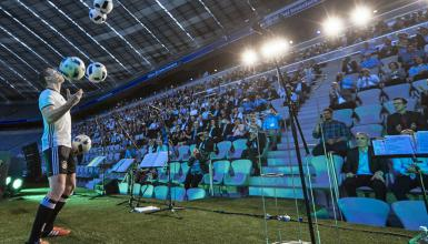 Interview mit Fußballjongleur Sebastian Landauer