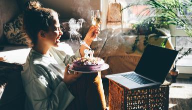 Geburtstag online: Party feiern trotz Corona