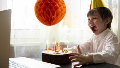 Kindergeburtstag online: Party trotz Corona