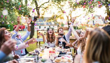 Heiraten unter freiem Himmel: die besten Locations