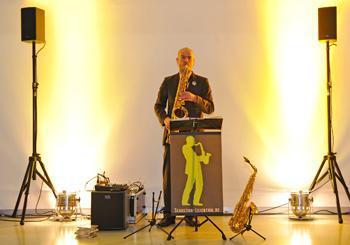 Saxophonist Sebastian Lilienthal