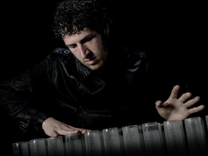 Der Glasmusiker Musicien sur verres