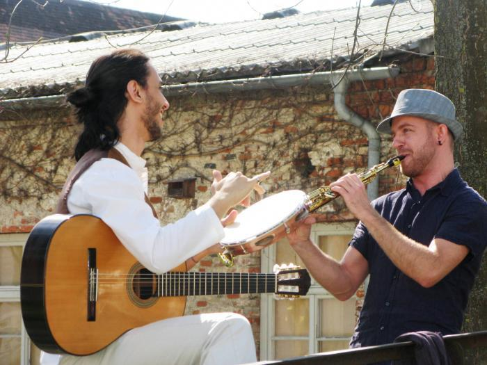 Das Jazz-Duo Marcio Schuster & Paulo Vinicius