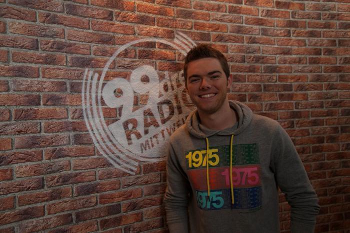 Ben David beim Radio