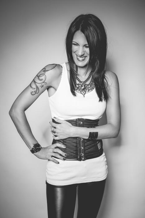 Die Sängerin Meike Anlauff