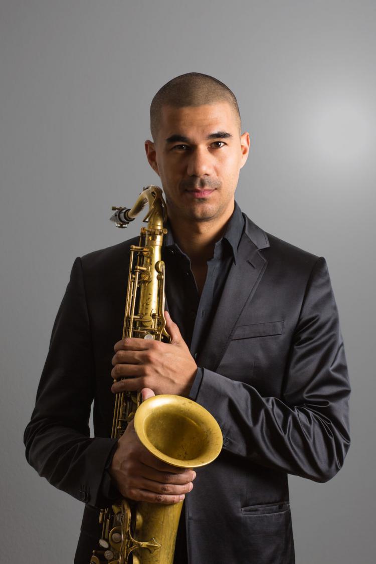 Der Saxophonist Joël Mozes van de Pol