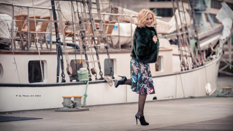 Eszter Vegvari singt gerne auf Kreuzfahrtschiffen.