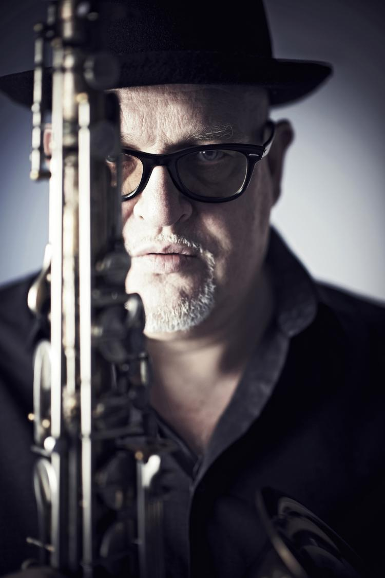 Saxophonist Bernd Delbrügge