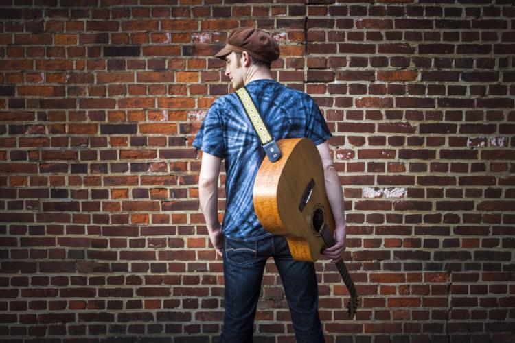 Jody Cooper musik Gitarre Wand