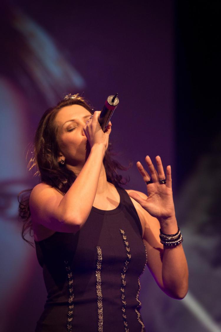 Sängerin Nadine Stockmann