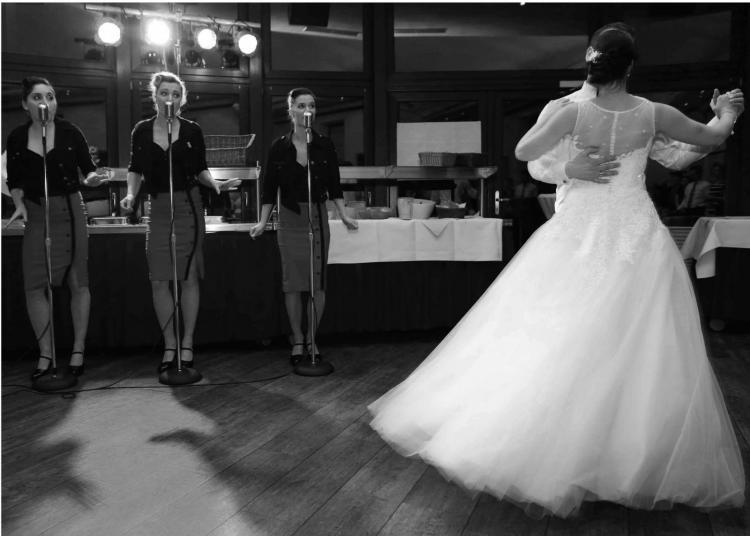 The Airlettes auf einer Hochzeit