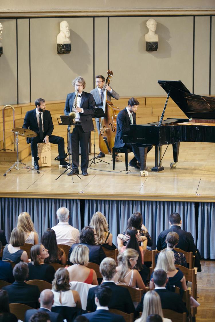 Goethe Street Quartet Auftritt LMU