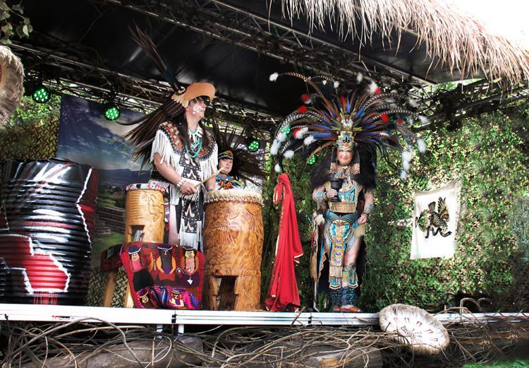 Indian Dance Show Bühne