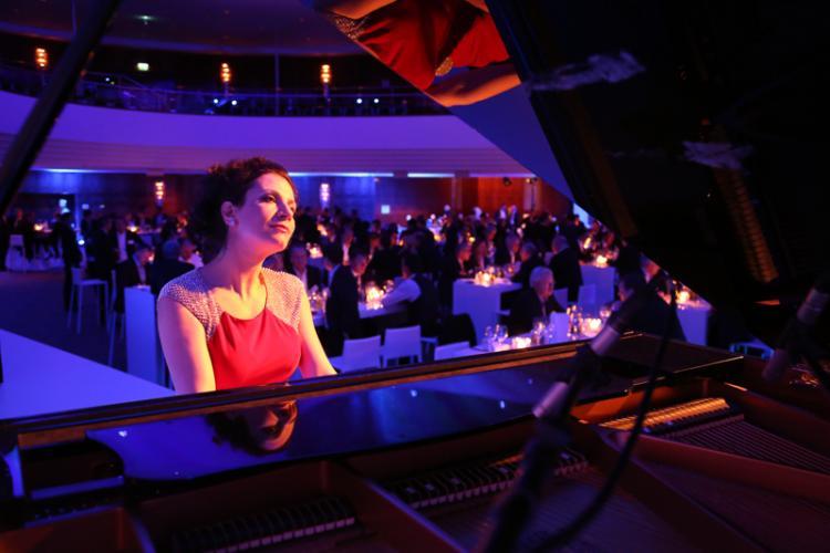 Inna Grube am Piano