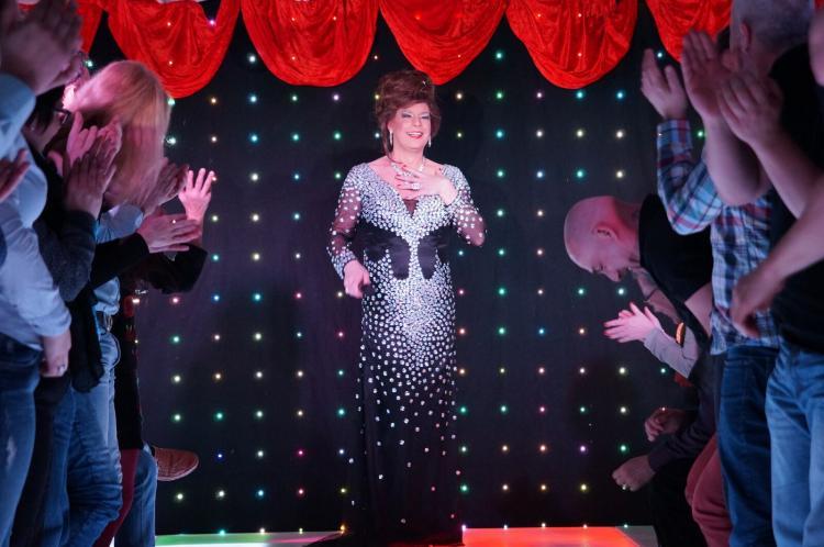 Hertha Ottilie van Amsterdam mit Standing Ovations