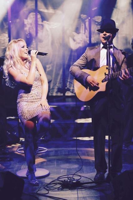 Andrea & Sebastian Duo auf der Bühne