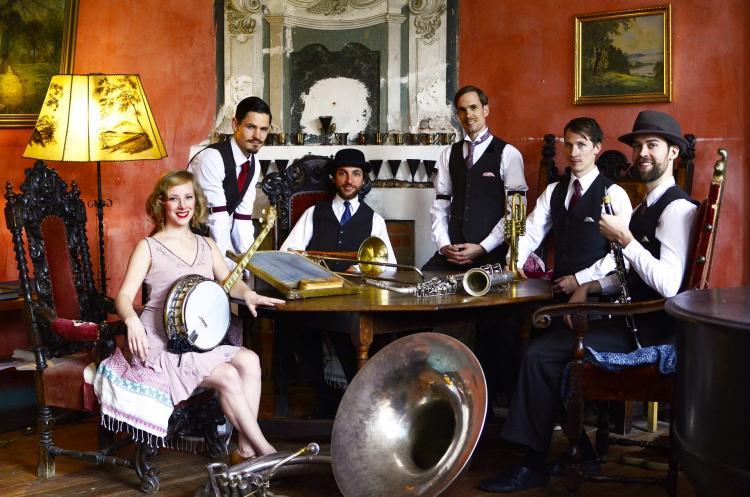 RUFUS TEMPLE ORCHESTRA Quintett Fotoshoot