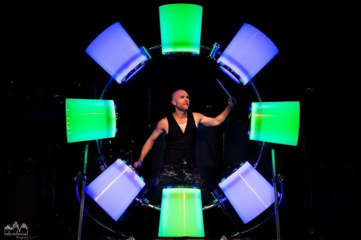 Rudi Bauer LED Drum-Wheel