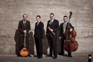 die vier professionellen Musiker der Soulbrothers
