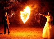Feuergöttin und Burning George - Feuershow für Hochzeit
