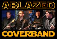 Alle vier Musiker der rockigen Coverband Ablazed