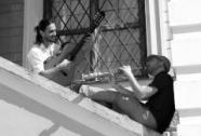 Marcio Schuster & Paulo Vinicius in schwarz-weiß