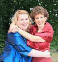 Nicole Rauchmann mit ihrer Pianistin Elena Betsis.
