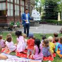 Ben David zaubert für Kinder