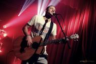 Holger unterstützt die Coverband TWICE am Bass und am Gesang