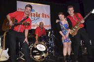 Die Hochzeitsband The Munichs live auf der Bühne