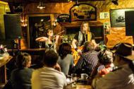 Die Rockband mywood live auf der Bühne